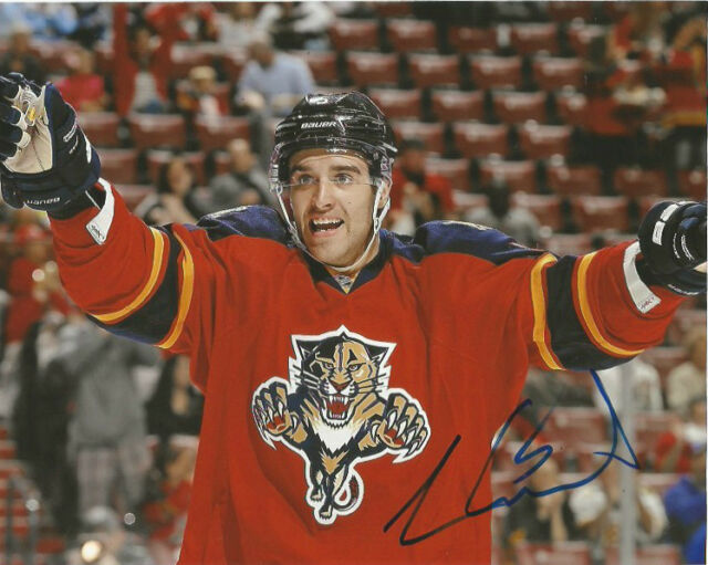 Florida Panthers Aaron Ekblad Signed Autographed 8x10 Photo COA