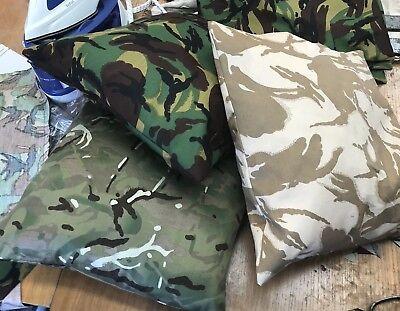 DPM Camo Carp Fishing Pillow Case//Cover NEW Carp Fishing