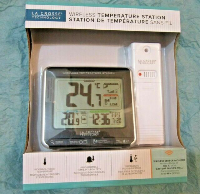 """La Crosse """"Wireless Weather Station with Colour Display"""" Model:CA85169 NEW!"""