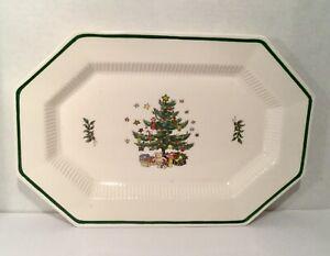 Nikko-Christmastime-Oval-Serving-Platter-13-X-9