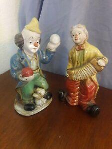 Vintage clown figurine kitsch