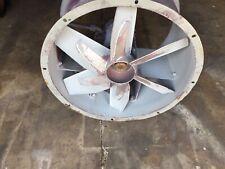 Dayton 4tm85 1 Hp 1160 Rpm 200 230460v 24 In Blade Dia Steel Tubeaxial Fan Used