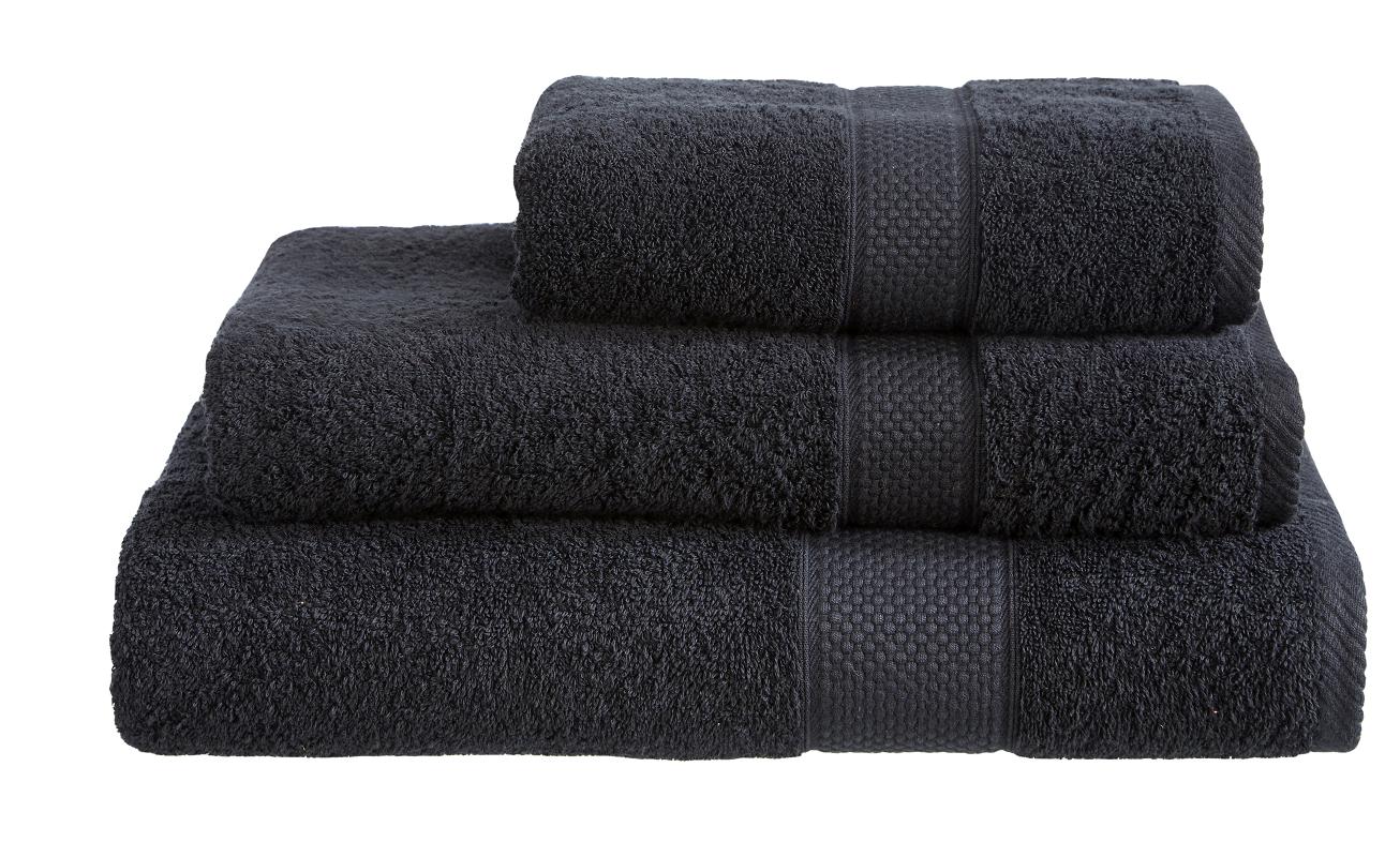 Imperial Bath Sheet - Black