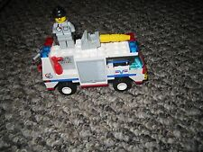 Lego 6614  Launch Command Evac Set loose with Minifigure Fire Truck Rescue City