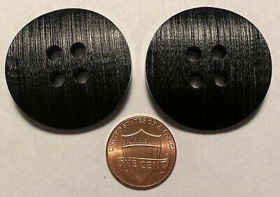 1 1//8,1 3//16 New Large Black Coat Buttons 13//16 7//8 1 5//16 1 3//8  #CE