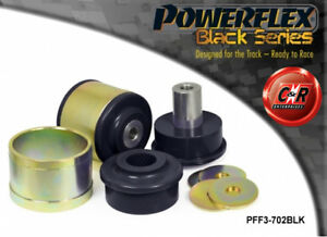 Audi-S6-12-Powerflex-Negro-Frontal-Inferior-Brazo-Radial-a-Chasis-Cojinete