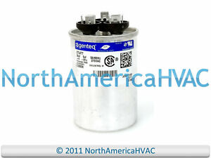 s l300 ge genetq capacitor round dual run 30 5 uf 370 volt z97f9833  at mifinder.co