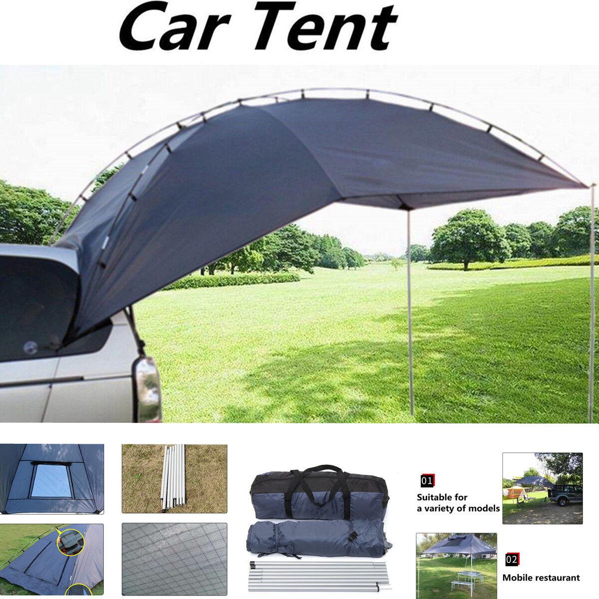 Remolque de una sola capa Toldo Sun refugio SUV Toldo Dosel Camper Techo tienda súperior