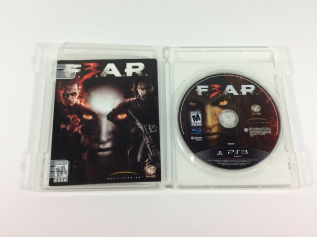 F.E.A.R. 3 (Sony PlayStation 3, 2011) PS3 Complete CIB FEAR F3AR