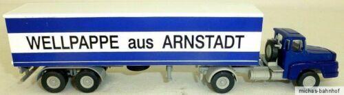 De cartón ondulado Arnstadt RDA camiones h0 1:87 he3 Å *