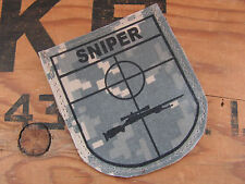 SNAKE PATCH - US - BLASON SNIPER - ACU digital Snip M700 M24 GHILLIE us army