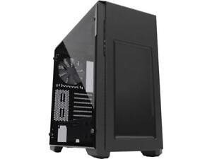 Phanteks Enthoo Pro M Series PH-ES515PTG_BK Brushed Black Steel frame / ABS Fron