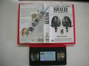 MEN IN BLACK II, Tommy Lee Jones Will Smith Barry Sonnenfeld 2002 VHS Italian