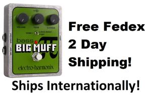 New-Electro-Harmonix-EHX-Bass-Big-Muff-Pi-Distortion-Fuzz-Pedal