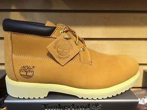 Men-039-s-Timberland-Waterproof-Chukka-Work-Boots-Wheat-Nubuck-50061-Wide
