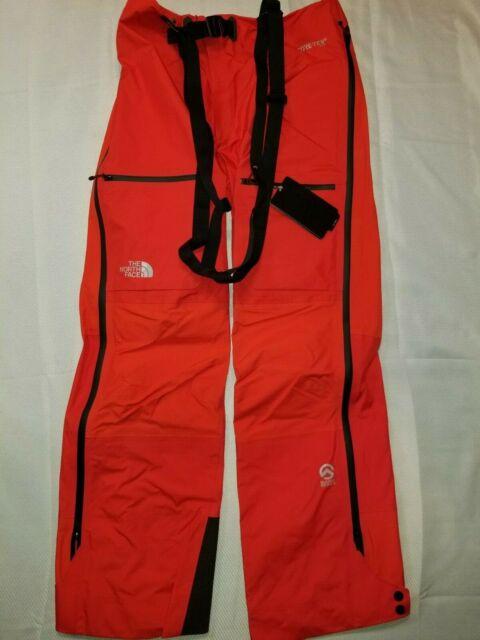 The North Face Men's Summit L5 GTX Climb Pro Pants Fiery Red Medium New