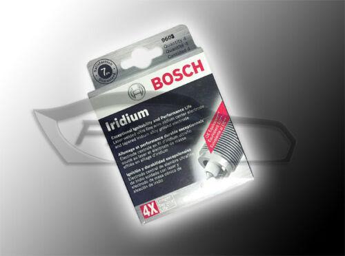 SET OF 4 BOSCH 9603 IRIDIUM SPARK PLUGS