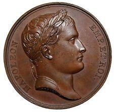 1806 France Napoleon I Bonaparte Conquest Of Istria Temple Medal Bramsen.512