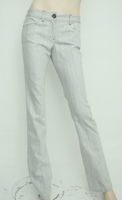 Nwt  Theory Emme Virginia Stretch Cotton Slim Straight Jeans Pants Trouser 4