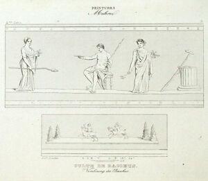 Adoracion-de-Bacchus-Antiguedad-Roma-Roma-Vino-Grabado-original-siglo-XIX-siglo