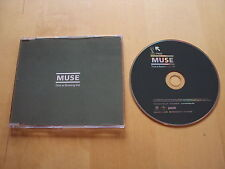 MUSE TIME IS RUNNING OUT GERMAN/MOTOR PROMO CD **NEAR MINT CONDITION**  RARE!!