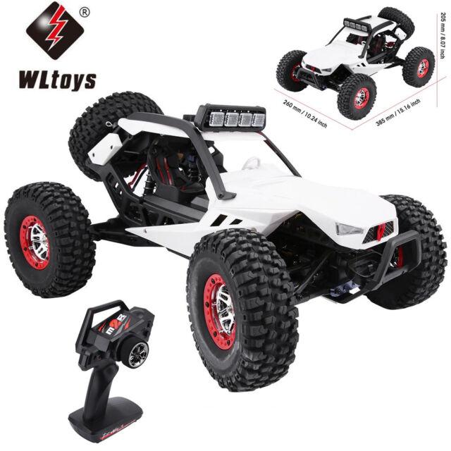 WLtoys 12429 1:12 4WD RC Auto Crawler 40km//h 2.4 GHz Off-Road Elektro Truck N4K8