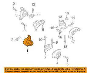saturn gm oem 2008 astra engine motor mount front 90538576 ebay rh ebay com 2008 saturn astra xr engine diagram 2008 saturn outlook engine diagram
