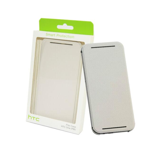 Oficial Auténtico HTC HC V941 Funda Libro Cartera para HTC Uno M8 Blanco Nuevo
