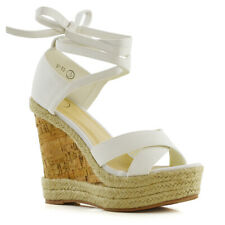 a2e9cc7c4ea item 2 Womens Platform Wedge Heel Espadrilles Sandals Lace Tie Up Ladies  Summer Shoes -Womens Platform Wedge Heel Espadrilles Sandals Lace Tie Up  Ladies ...