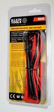 Klein Tools Multimeter Test Lead Set Electrical Clamp Clips Meter New