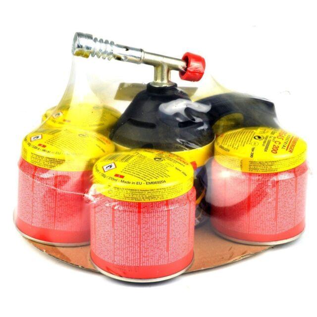 ROTHENBERGER Lötlampen Set mit 5 Gaskartuschen