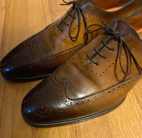 Santoni Gabe Dress Shoes size 9