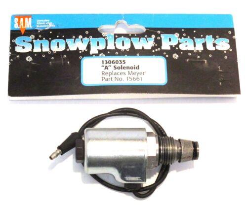 "/""A/"" Solenoid part #1306035 Snow Plow Meyer 15661"