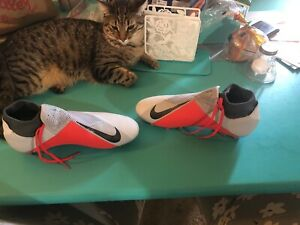 Nike-Phantom-VSN-Elite-DF-FG-Vision-Platinum-Soccer-Cleats-Size-10-5
