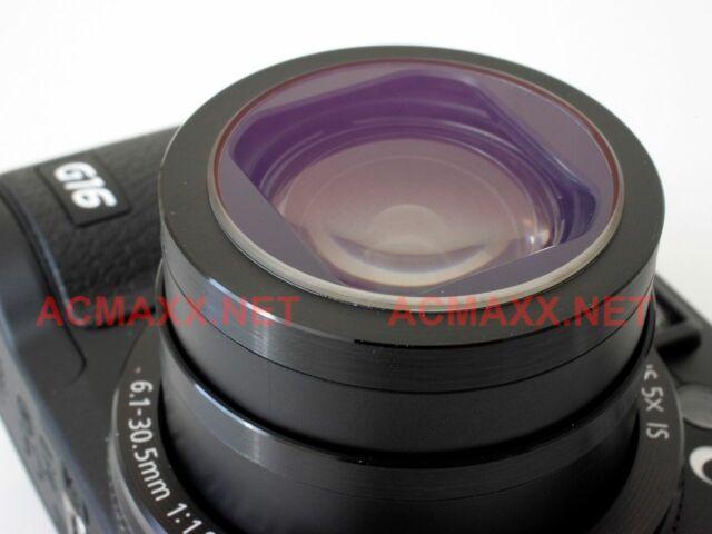 ACMAXX Multi-Coated LENS ARMOR UV FILTER Canon PowerShot G9X-II G9X Mark II 2 G9