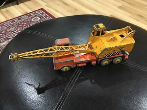 Vintage-Dinky-Supertoys-972-20-Ton-Lorry-Mounted-Crane-Diecast-Toy-Vehicle