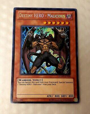 Destiny Hero Parallel Rare Malicious DT03-EN055 Duel Terminal NM YuGiOh