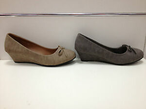 Femmes Chaussures Escarpins Talon Compensé 5 Cm Gris Taupe 2026 ModéLisation Durable