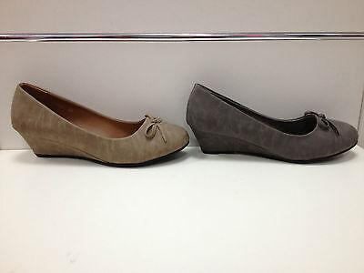 Attivo Femmes Chaussures Escarpins Talon Compensé 5 Cm Gris Taupe 2026