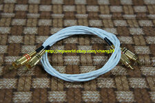 Western Electric Audio RCA Interconnect Shield Cable Tube Pre Power Amplifier 2m