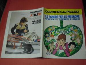 CORRIERE-DEI-PICCOLI-formato-giornale-n-50-b-b-del-1970-settimanale-ragazzi
