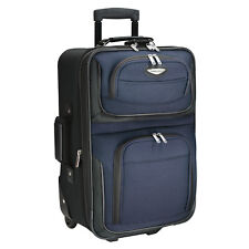 Travel Select Direct Ts0045 Blue Rolling Carry on Backpack ...