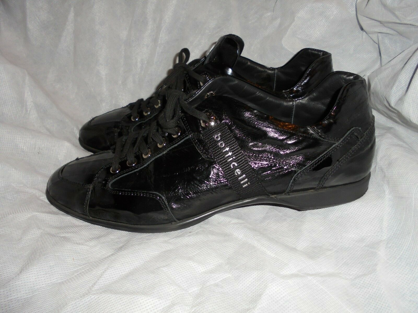 BOTTICELLI LIMITED BLACK LEATHER LACE UP SHOES  SIZE UK 10 EU 44 VGC