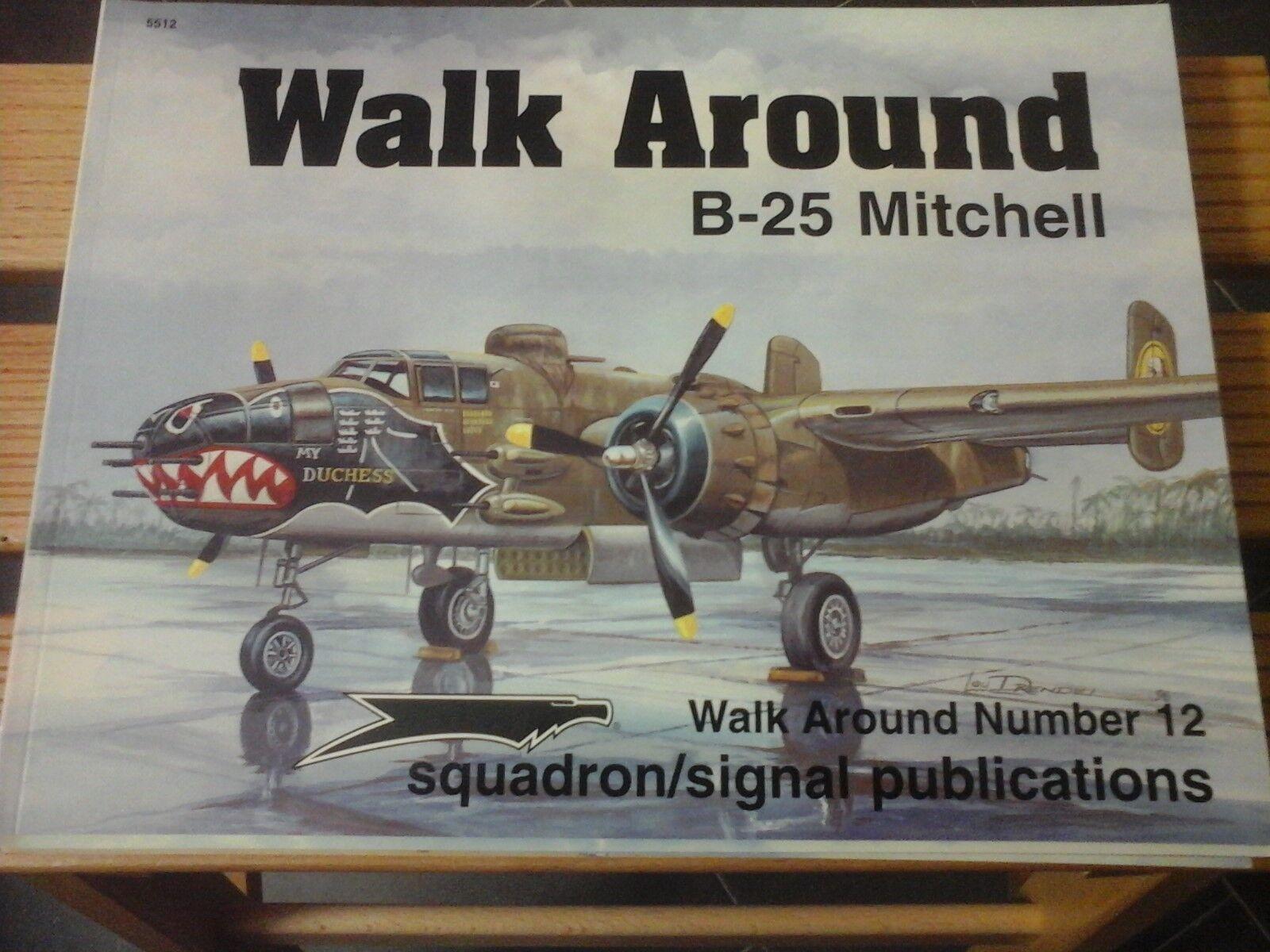 SQUADRON SIGNAL WALK AROUND n.12 B-25 MITCHELL-BY LOU DRENDEL-