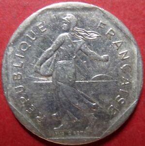 *FRANCE, Vintage 1979  2  FRANCS COIN, Republique Francaise, NICE Pre-EURO COIN