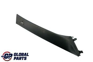 BMW 5 Series F10 F11 Cover A-column Pillar Trim Panel Right O/S Black 9116348