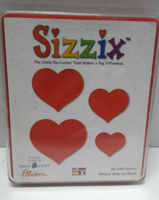 VARIOUS Sizzix Originals Red Die