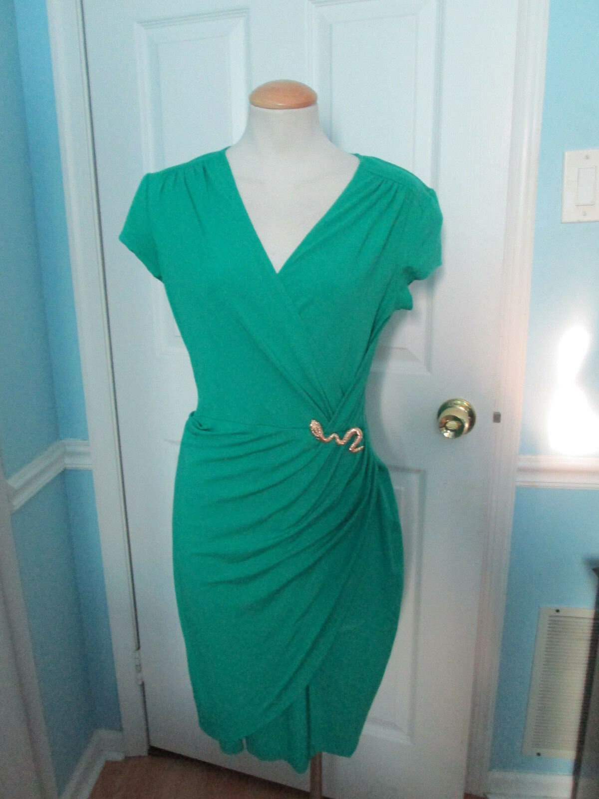 Cache Grün dress with snake very hard to find this style and Farbe