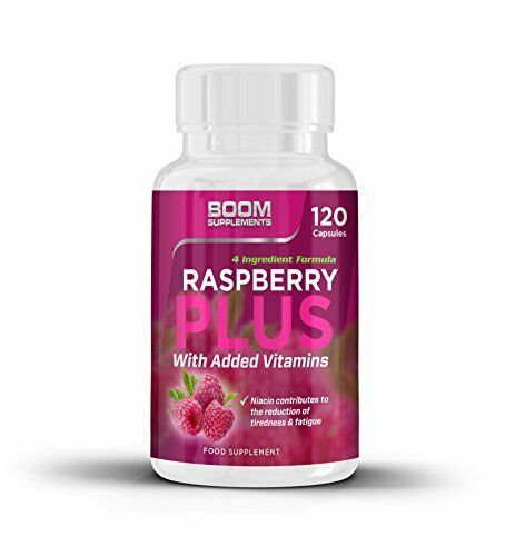 Boom Supplements Raspberry Ketones Max Strength Wild Weight Loss 120 Caps 120