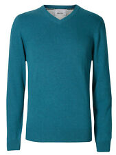 d0617a45b item 2 New Men Ex M&S Jumper Long Sleeve Pure Cotton V-Neck Pullover Top  Size S- XXL -New Men Ex M&S Jumper Long Sleeve Pure Cotton V-Neck Pullover  Top Size ...